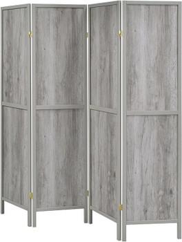 ALBREIT 4-Panel Room Divider