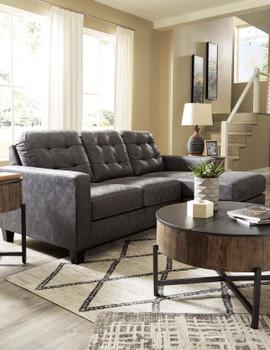"""BRIZZO 85"""" Wide Sofa Chaise"""