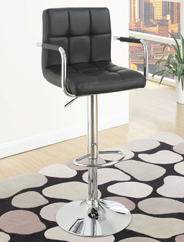 Ajax Black Barstool