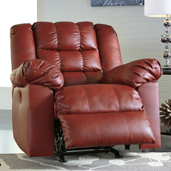 Brolayne Red Rocker  Recliner