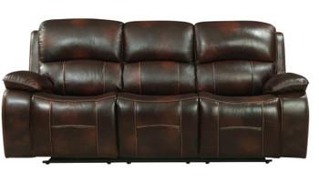 EMMETT Top Grain Leather Reclining Livingroom