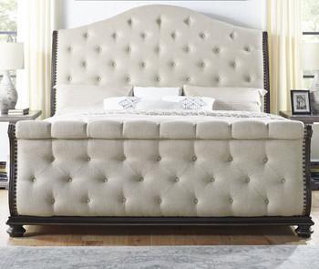 SOFIANE Fabric 6 Piece Bedroom