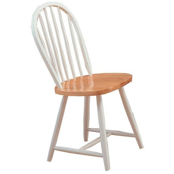 White & Oak Dining Chair