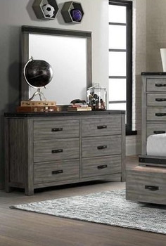 "Owen 58"" Wide Dresser and Mirror"