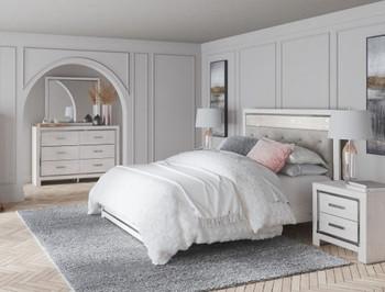 Kayla Lighted Bedroom