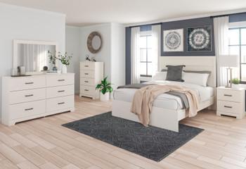 GATELL White Bedroom Set
