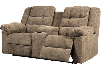 Workhorse Reclining Loveseat