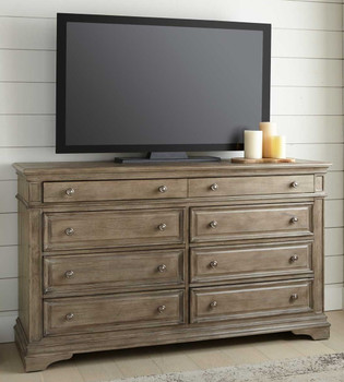 "NEWHAVEN Driftwood 66"" Wide TV Console"