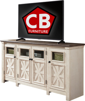 "FLEMING 74"" Wide TV Stand"