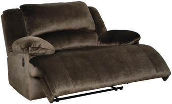 "HAVEN 52"" Wide Brown Recliner"
