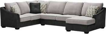"STOCKTON 143"" Wide Oversized Sectional"
