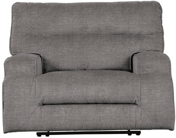 "JADEYN 52"" Wide Gray Recliner"