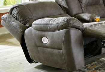"REAGAN 52"" Wide Zero Wall Power Recliner with USB and Adjustable Headrest"