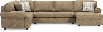 "URSINO 145"" Wide Oversized Sectional"