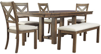 ALPINE 6 Piece Dining Set