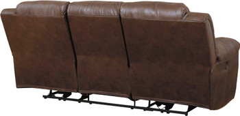 "PERSES Coffee 93"" Wide Reclining Sofa"