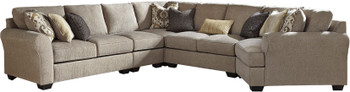 "LAGUNA HEIGHTS Taupe 158"" x 128"" Sectional"