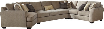 "LAGUNA HEIGHTS Taupe 183"" x 102"" Sectional"