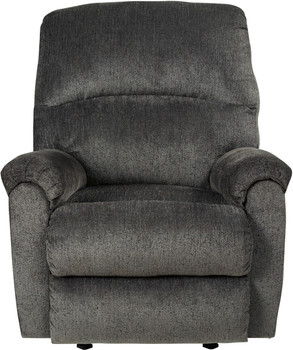"KAVANA Gray 41"" Wide Recliner"