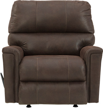 "VUHL Dark Brown 39"" Wide Recliner"