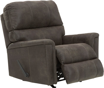 "VUHL Dark Gray 39"" Wide Recliner"