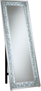 "REINA 67"" Tall LED Floor Mirror"