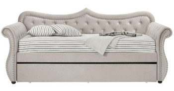 MADISON Beige Daybed with Trundle