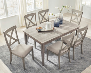 OMEKO 7 Piece Dining Set