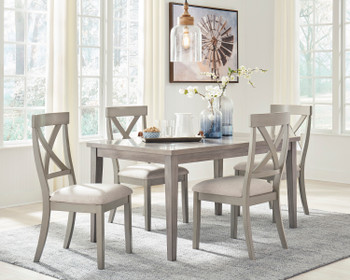 OMEKO 5 Piece Dining Set
