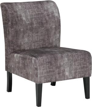 """ALETHA Dark Gray 22"""" Wide Accent Chair"""
