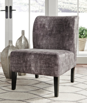 "ALETHA Dark Gray 22"" Wide Accent Chair"