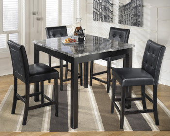 Maysville 5 Piece Counter Height Set