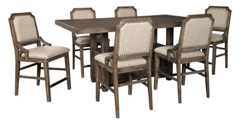 ELLIOT 7 Piece Counter Dining Set