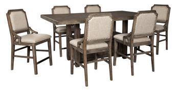 ELLIOT 7 Piece Counter Dining Set
