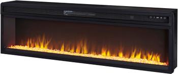 """KRAKLIN 57"""" Wide Fireplace Insert"""