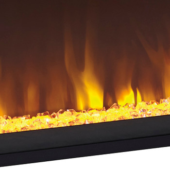"KRAKLIN 57"" Wide Fireplace Insert"