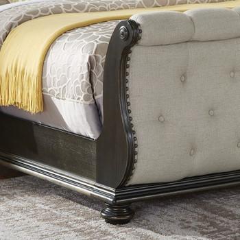SOFIANE Sleigh Bed