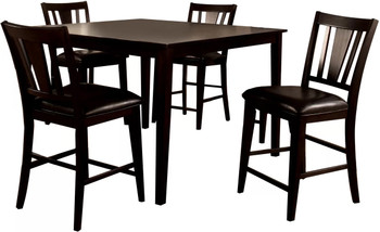 JAVANA 5 Piece Counter Height Set