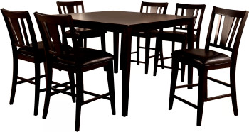 JAVANA 7 Piece Counter Height Set