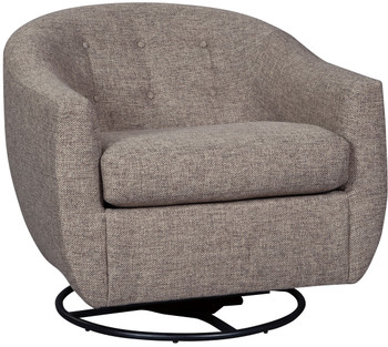 "KIRSTEN 33"" Wide Swivel Accent Chair"