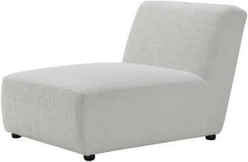 NOVA White Chaise