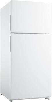 KEIZER T21 White 18 Cu. Ft. Top Freezer Refrigerator