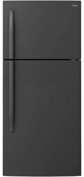 CENTARUS T21 Black 18 Cu. Ft. Top Freezer Refrigerator