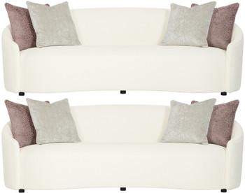 LUMEN Cream Livingroom Set