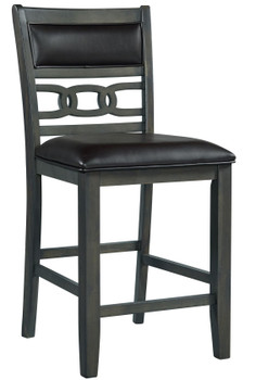 LABONZ Gray Counter Chair