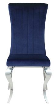 LONDON Dark Blue Dining Chair