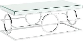 MICHELLE Mirrored Coffee Table