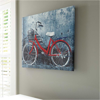 """BICYCLE  25"""" Wide Wall Art"""