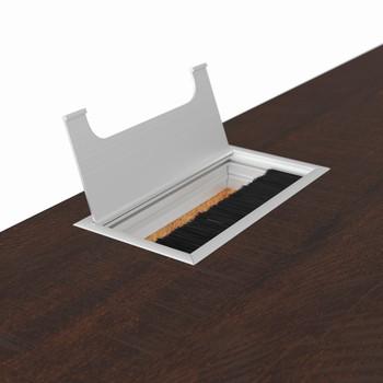 """JUNE Brown 48"""" Wide Desk"""