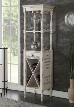 HARDIN White Wine Cabinet